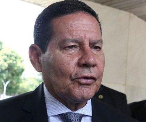Vice-presidente Mourão recebe CUT. Que critica  a Reforma da Previdência