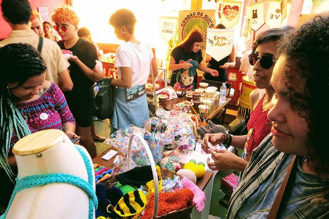II Feira Mina Livre - feira de mulheres empreendedoras de PVH - Gente de Opinião