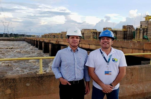 Presidente da Caixa Econômica Federal visita a Hidrelétrica Santo Antônio
