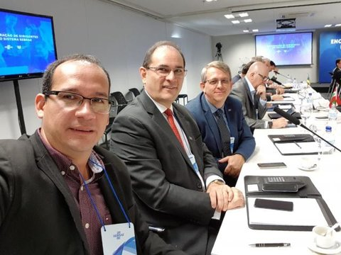 Rondônia presente em reunião de dirigentes do Sebrae em Brasília