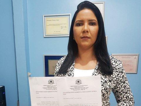 Cristiane Lopes protocola solicitação de esclarecimentos à secretários de Transporte e Educação