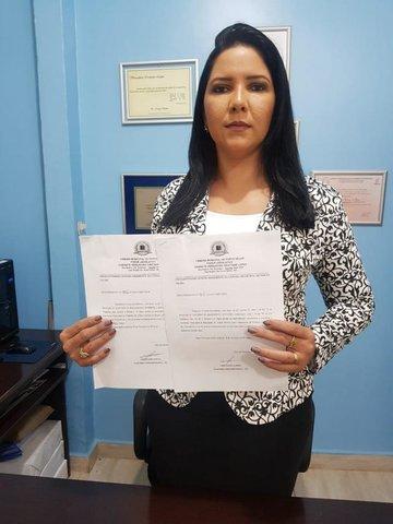 Cristiane Lopes protocola solicitação de esclarecimentos à secretários de Transporte e Educação - Gente de Opinião