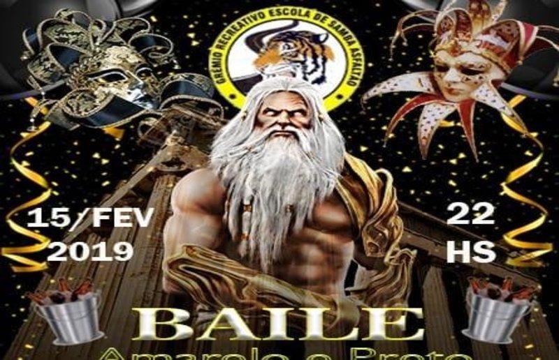 Baile Amarelo de Preto  da escolas Asfaltão na sexta - Bloco Murupi abre sede