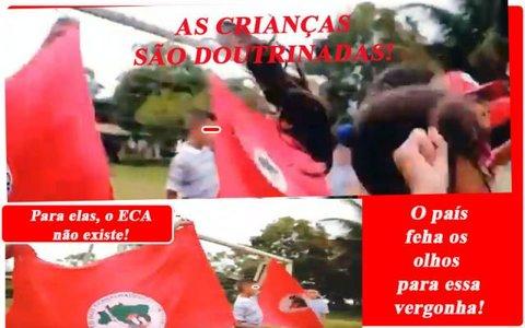A doutrinação esquerdista e comunista de crianças pelo MST - Rocha manda e cobra - Contas de energia impagáveis - A Festa dentro das celas