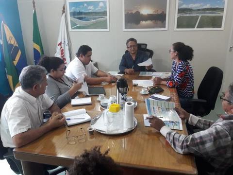 Sema e parceiros se reúnem para a execução da Semana da Água