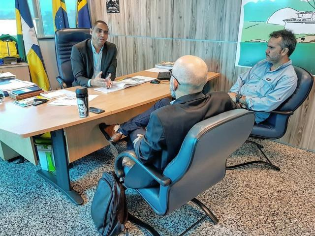 Vereador Aleks Palitot busca apoio do Executivo Estadual - Gente de Opinião