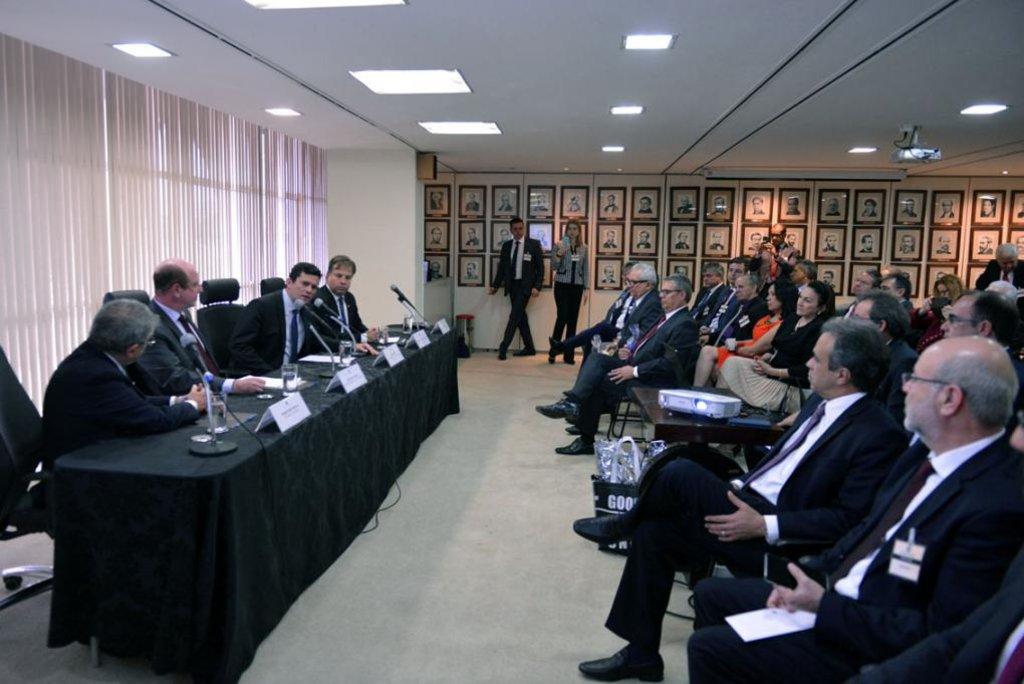 TCE-RO participa de reunião dos TCs com ministro Sérgio Moro  - Gente de Opinião