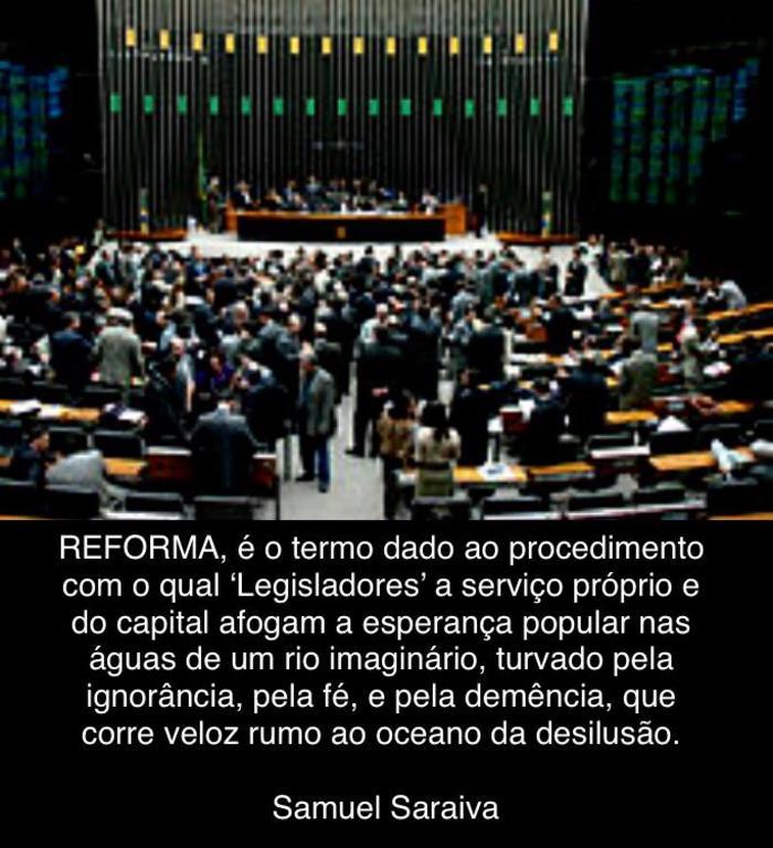 Definição de Reforma - Gente de Opinião