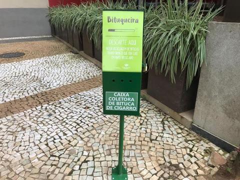 Porto Velho Shopping é pioneiro em reciclar bituca de cigarros em Rondônia