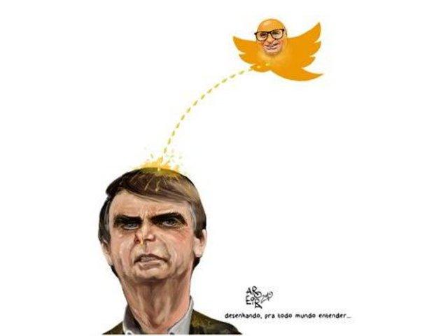 Quer saber o que é 'golden shower'? O chargista Aroeira, um dos maiores cartunistas do Brasil, responde - Gente de Opinião