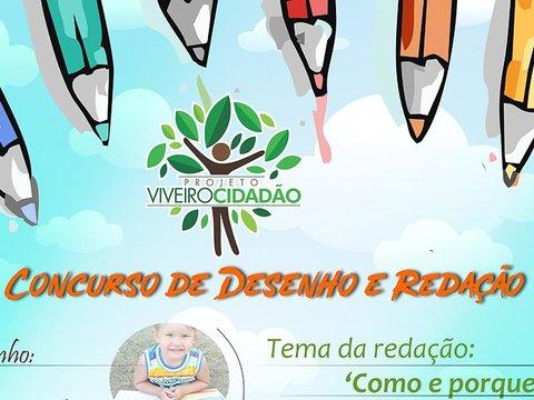 Viveiro Cidadão: O meio ambiente é tema para concurso de desenho e redação