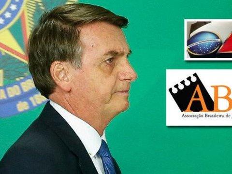 OAB e ABRAJI repudiam a agressão de Bolsanaro à jornalista