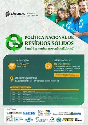 Sistema Fecomércio/RO participará de Workshop sobre Gestão de Resíduos Sólidos