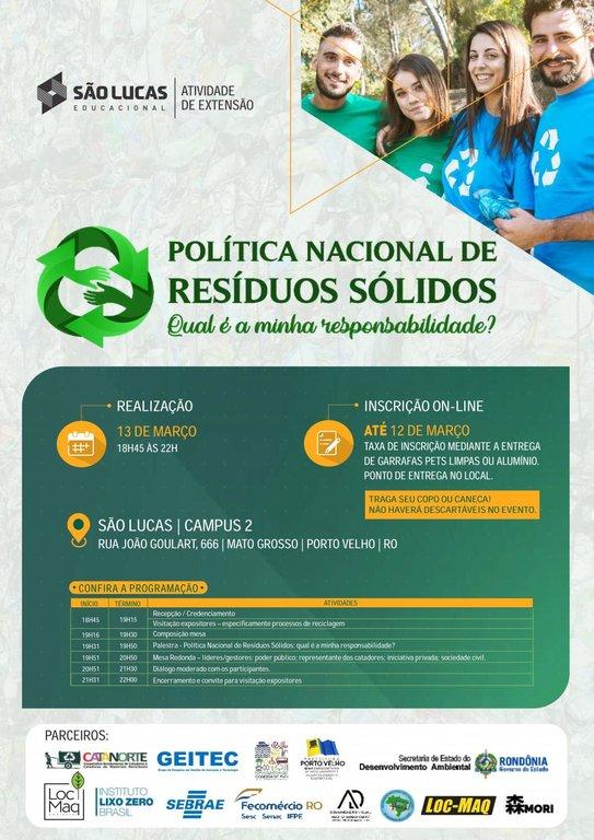 Sistema Fecomércio/RO participará de Workshop sobre Gestão de Resíduos Sólidos    - Gente de Opinião