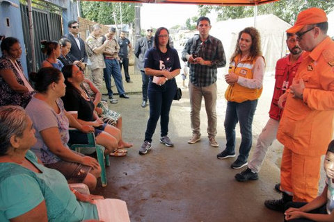 Enchente: Defesa Civil socorre desabrigados em Candeias do Jamari