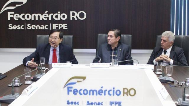 Presidente da Câmara de Comércio e Indústria Brasil/China participa de reunião na  Fecomércio/RO - Gente de Opinião
