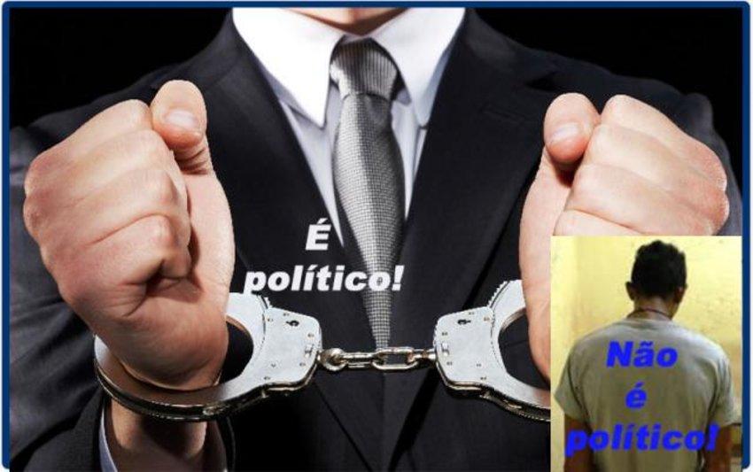 É DEMOCRÁTICO QUE EMPRESÁRIOS CRIMINOSOS E BANDIDÕES TENHAM PRIVILÉGIOS E OS NOMES DE POLÍTICOS SEJAM CONSPURCADOS?
