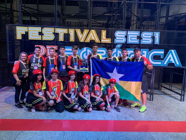 Sesi Vilhena fica entre as 20 melhores na etapa nacional do Torneio de Robótica - Gente de Opinião