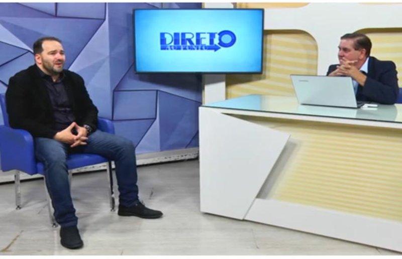 Alex Redano fala de seus planos políticos e da ascendência de sua esposa Carla Redano na política de Ariquemes.