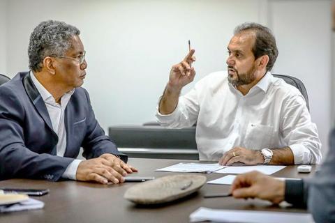 Laerte Gomes se reúne com secretário de Educação e anuncia indicação do plano de segurança nas escolas públicas