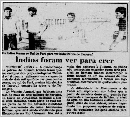 Os Waimiri-Atroari – Parte VII - Raimundo Pereira da Silva - Gente de Opinião