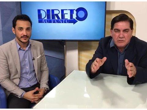 Chamada: Secretário de Saúde Fernando Maximo no Direto ao Ponto