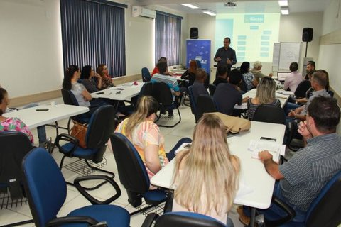 Sebrae realiza oficina de planejamento estratégico para gestores públicos