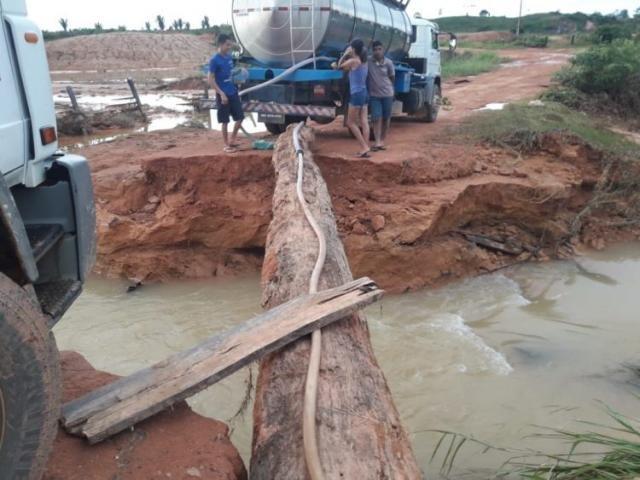 Rompimento de barragem no distrito de Novo Oriente, em Ariquemes - Gente de Opinião
