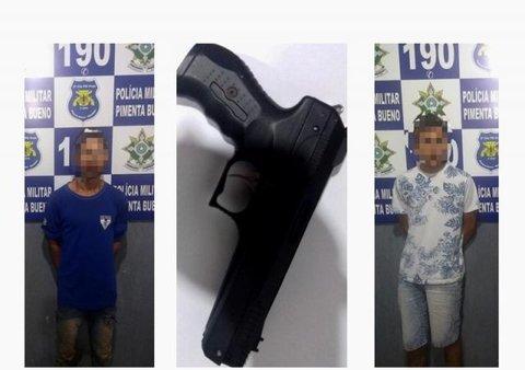 PM prende quadrilha que aterrorizava comerciantes e população de Pimenta Bueno, mas logo em seguida os suspeitos foram liberados