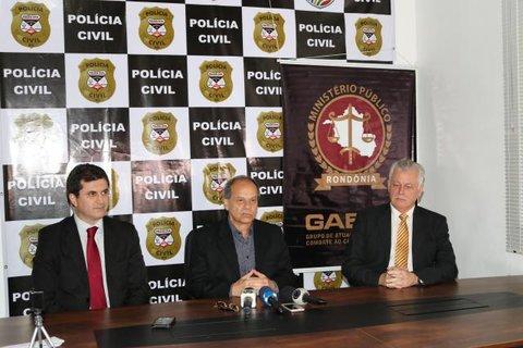 Ministério Público do Estado, MP de Contas e Polícia Civil explica alvos da segunda fase da Operação Pau Oco