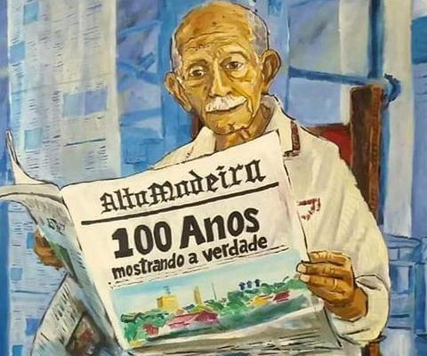 ALTO MADEIRA: Um jornal é parte integrante da sociedade e da historia de um povo
