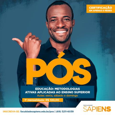 Faculdade Sapiens inova e lança especialização em Metodologias Ativas Aplicadas ao Ensino Superior - Gente de Opinião