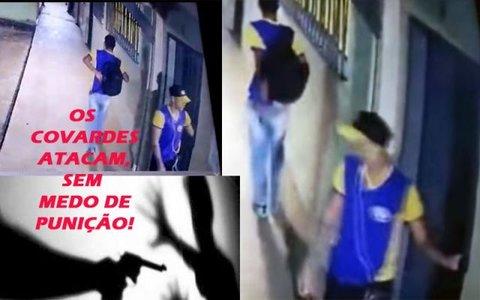"""Covardes atacam e apavoram dentro das salas de aula - Rondônia na contra mão - Laerte: """"terror no campo"""""""