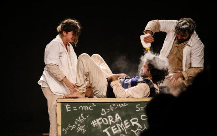 Grupo Ser Tão Teatro  se  apresenta em Porto Velho - Cunhã Poranga Gay da Jucadiro