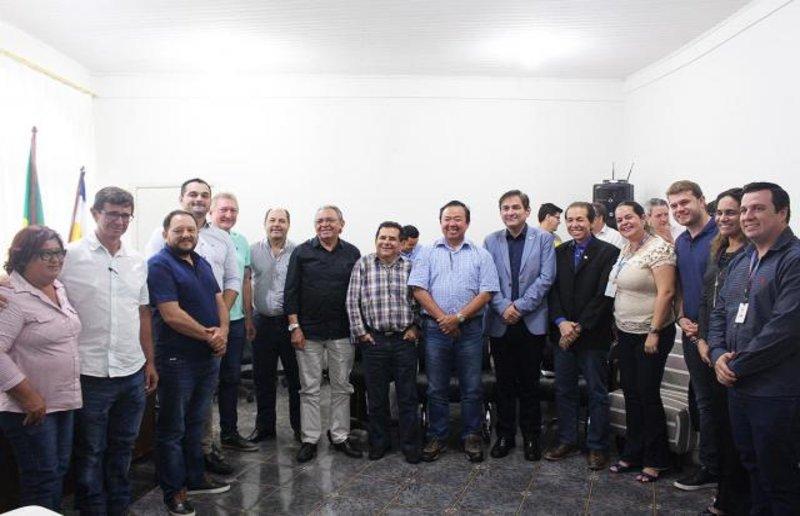 Fecomércio: Estímulo à aviação regional de Vilhena foi tema de reunião