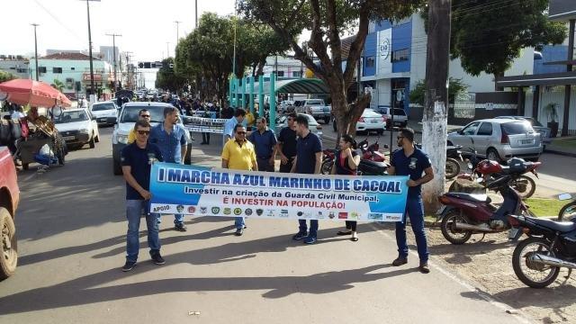 Cacoal: 1ª Marcha Azul Marinho supera expectativas em público e aceitação por autoridades - Gente de Opinião