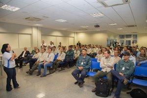 Uhe Jirau recebe palestra sobre prevenção de acidentes e doenças ocupacionais da Justiça do Trabalho de Porto Velho  - Gente de Opinião