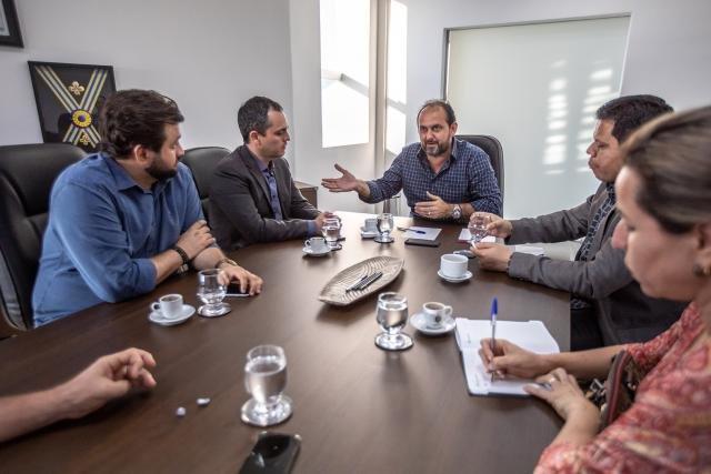 Laerte Gomes recebe diretoria da Sedi para tratar fortalecimento do desenvolvimento de Rondônia - Gente de Opinião