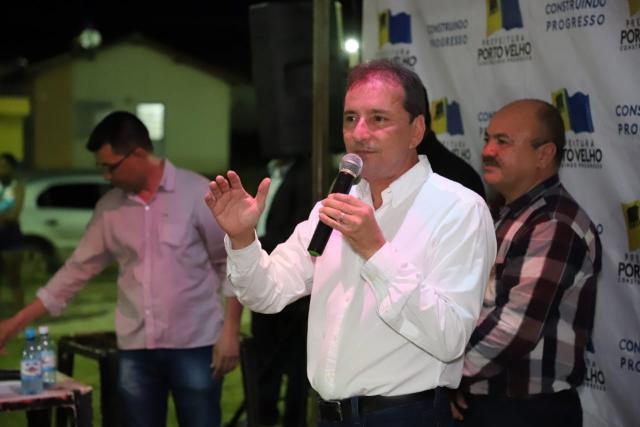 Porto Velho: Prefeito Hildon Chaves anuncia construção de Escola no Cristal da Calama - Gente de Opinião