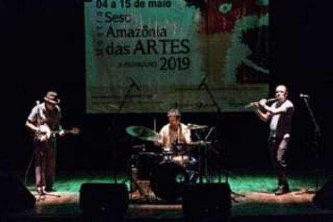 Amazônia Instrumental - Trio Chamote com  jazz e rock dos anos 60