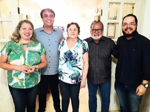 Sindcontrole promove reunião com Anísio Gorayeb sobre projeto 'Contando a História do Controle Externo'