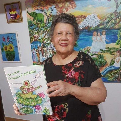 """Artista plástica Maria Antônia lança o livro infantil """"Aruaçu, o Sapo Cantador""""  - Gente de Opinião"""