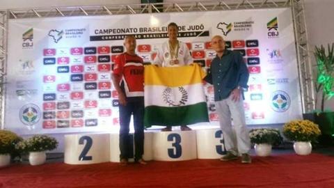 FEJUR - Rondônia fica em terceiro lugar no Campeonato Brasileiro de Judô