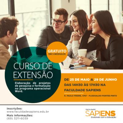 Faculdade Sapiens abre inscrições para curso de formatação de projetos de acordo com ABNT