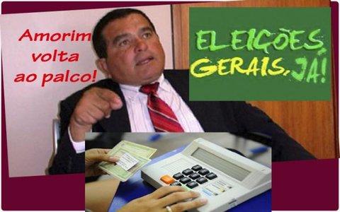 O MP anda investigando... - Candeias terá eleição. Garçon fora! - Eleições gerais a cada cinco ano