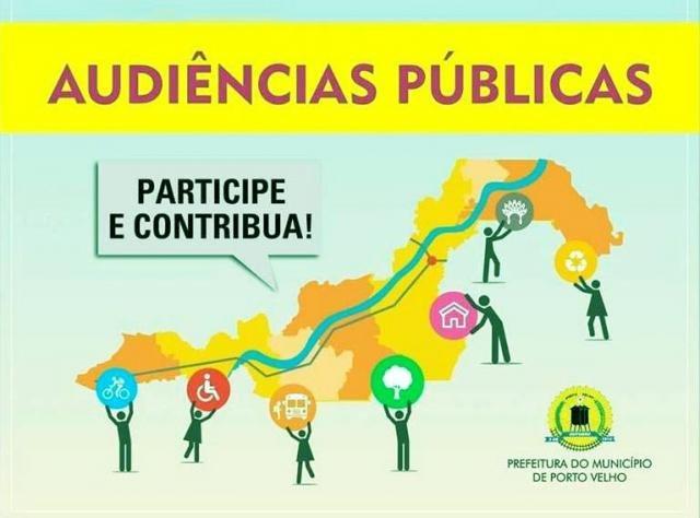 Audiências públicas para elaboração da LOA iniciam nesta terça, 21/5 - Gente de Opinião