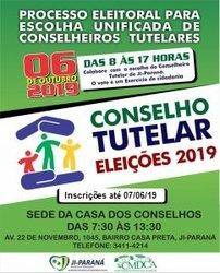 Ji-Paraná: Prorrogado o prazo de Inscrição para eleição dos Conselheiros Tutelares - Gente de Opinião
