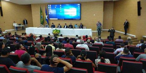 """Arraial Flor do Maracujá  Terá comissão mista - João Távora o pioneiro fundador de  Avorada d""""Oeste"""