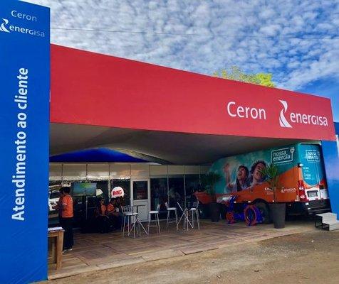 Ceron leva Van de Eficiência Energética para Rondônia Rural Show
