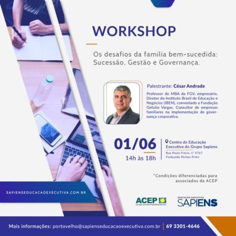 Sapiens Educação Executiva realiza workshop sobre governança corporativa em empresas familiares - Gente de Opinião